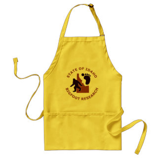 State of Idaho Bigfoot Research Adult Apron