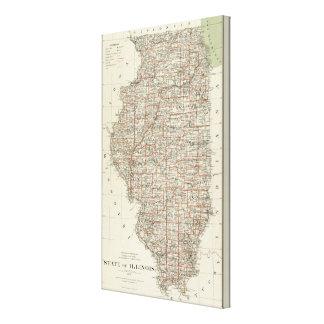 State of Illinois Canvas Print