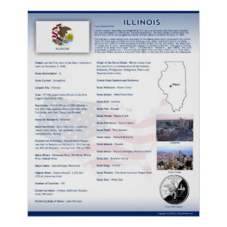 State of Illinois,IL Posters