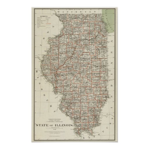 State of Illinois Poster