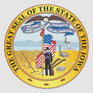 State of Iowa great seal