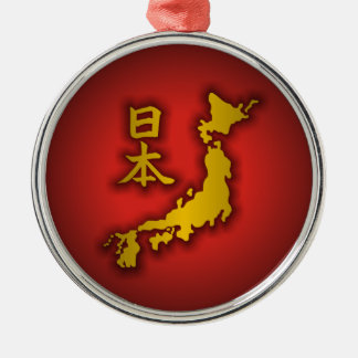 State of Japan Christmas Tree Ornament