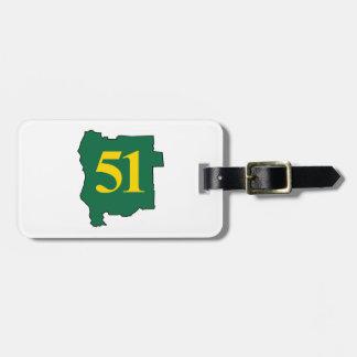 State of Jefferon 51 Luggage Tag