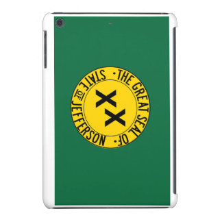 State of Jefferson Flag on iPhone Case iPad Mini Case