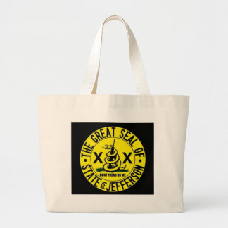 State of Jefferson Large Tote Bag