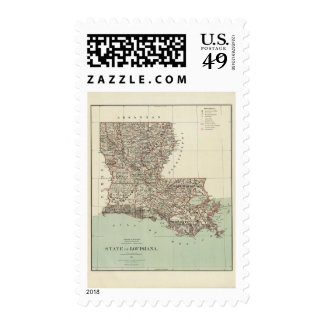 State of Louisiana Stamp