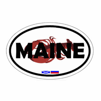 State of Maine. Cutout
