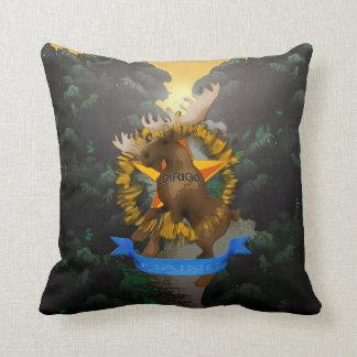 State of Maine - Dirigo Throw Pillow