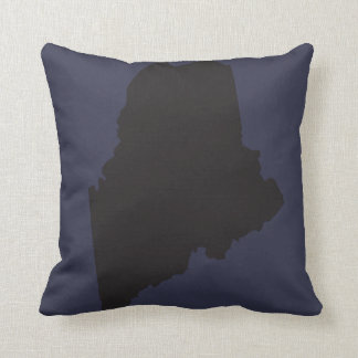 State Of Maine Pillow