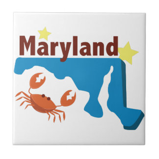 State Of Maryland Tile