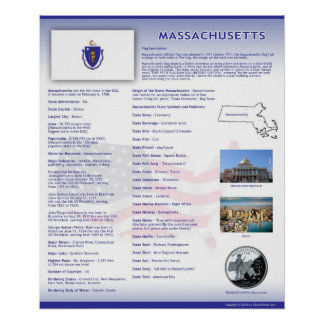 State of Massachusetts, MA Posters