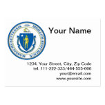 State of Massachusetts seal Business Card