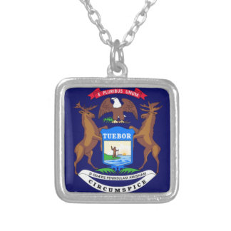 State of Michigan Flag Pendants