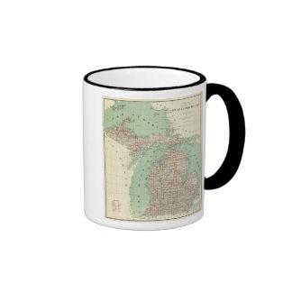 State of Michigan Mugs