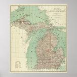 State of Michigan Poster