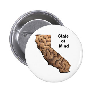 State of Mind: California Pinback Button