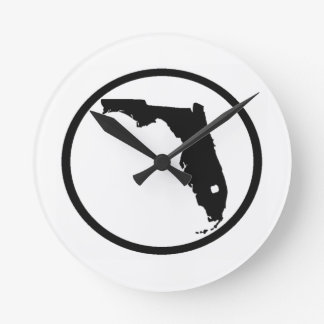 STATE OF MIND ROUND WALL CLOCKS