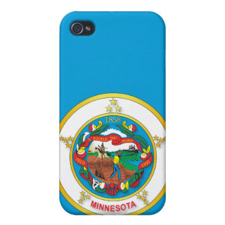 State of Minnesota flag iPhone 4 Cover