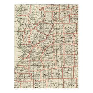 State of Mississippi Postcard