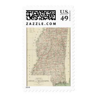 State of Mississippi Stamp