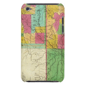 State of Missouri and Territory of Arkansas iPod Touch Covers