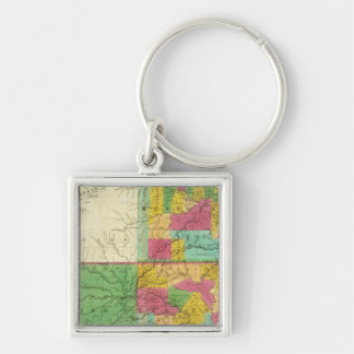 State of Missouri and Territory of Arkansas Key Chains