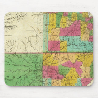 State of Missouri and Territory of Arkansas Mouse Pad