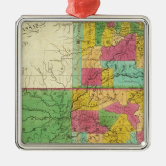 State of Missouri and Territory of Arkansas Christmas Ornament