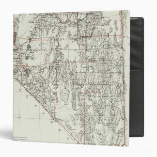 State Of Nevada Vinyl Binders
