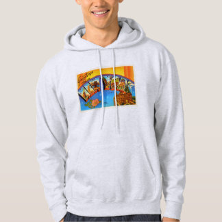 State of New #2 York NY Vintage Travel Souvenir Hoodie
