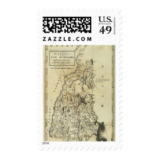 State of New Hampshire 3 Postage Stamps