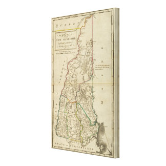 State of New Hampshire Canvas Print