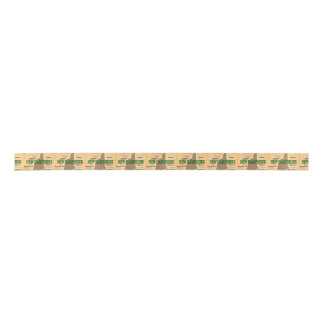 State of New Hampshire Map, concord, Manchester Satin Ribbon