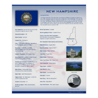 State of New Hampshire,NH Posters