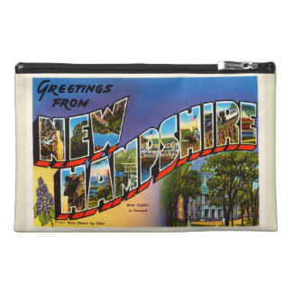 State of New Hampshire NH Vintage Travel Souvenir Travel Accessories Bag