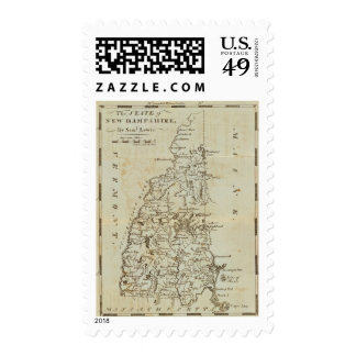State of New Hampshire Postage Stamp