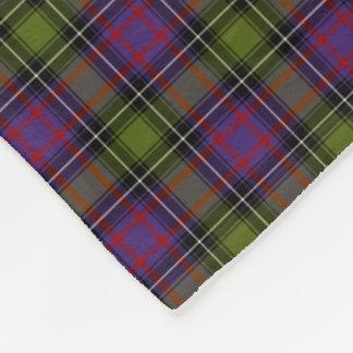 State of New Hampshire Tartan Fleece Blanket