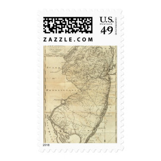 State of New Jersey Stamp