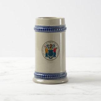 State of New Jersey Seal Coffee Mug