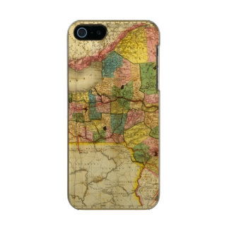 State of New York by DH Burr Metallic iPhone SE/5/5s Case