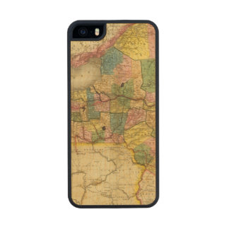 State of New York by DH Burr Wood iPhone SE/5/5s Case