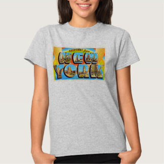 State of New York NY Old Vintage Travel Souvenir Tee Shirt