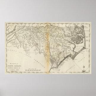 State of North Carolina Poster