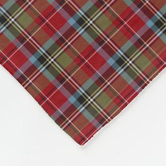 State of North Carolina Tartan Fleece Blanket