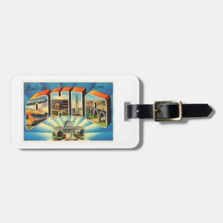 State of Ohio #2 OH Old Vintage Travel Souvenir Luggage Tag