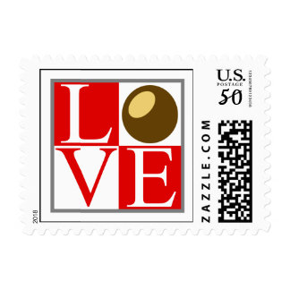 State of Ohio Buckeye Nut Love Postage Stamp