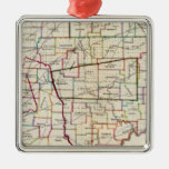 State of Ohio Christmas Ornaments