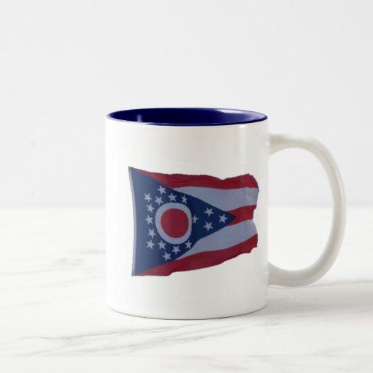 State of Ohio Flag Mug - 2 Sided