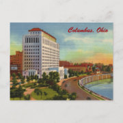 State of Ohio Office Building Vintage Postcard