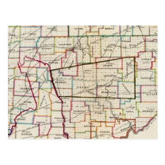 State of Ohio Postcard